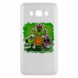 Чехол для Samsung J5 2016 Zombie vs Plants players