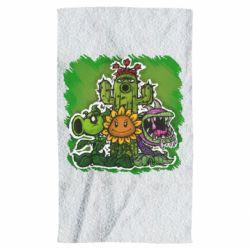 Полотенце Zombie vs Plants players