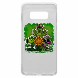 Чехол для Samsung S10e Zombie vs Plants players