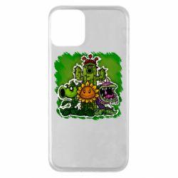 Чехол для iPhone 11 Zombie vs Plants players