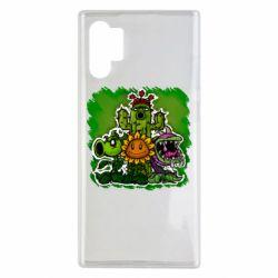 Чехол для Samsung Note 10 Plus Zombie vs Plants players