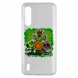 Чехол для Xiaomi Mi9 Lite Zombie vs Plants players