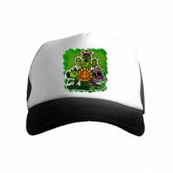 Детская кепка-тракер Zombie vs Plants players