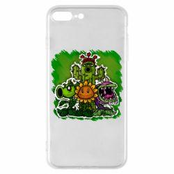 Чехол для iPhone 7 Plus Zombie vs Plants players