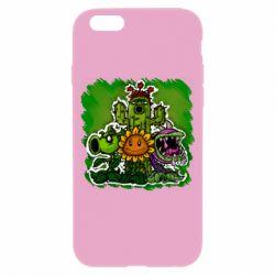Чехол для iPhone 6/6S Zombie vs Plants players
