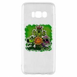 Чехол для Samsung S8 Zombie vs Plants players