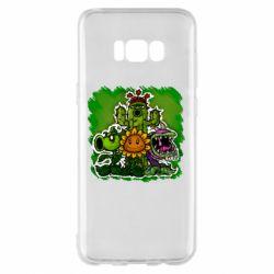 Чехол для Samsung S8+ Zombie vs Plants players