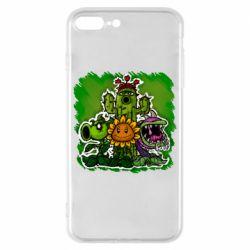 Чехол для iPhone 8 Plus Zombie vs Plants players