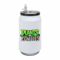 Термобанка 350ml Zombie vs Plants