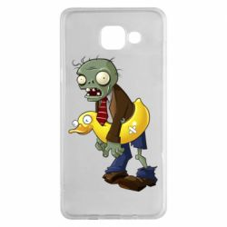 Чехол для Samsung A5 2016 Zombie with a duck