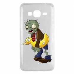 Чохол для Samsung J3 2016 Zombie with a duck