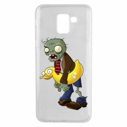 Чехол для Samsung J6 Zombie with a duck