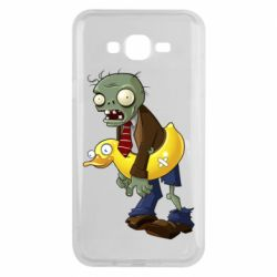 Чехол для Samsung J7 2015 Zombie with a duck