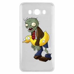 Чехол для Samsung J7 2016 Zombie with a duck