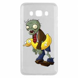 Чохол для Samsung J5 2016 Zombie with a duck