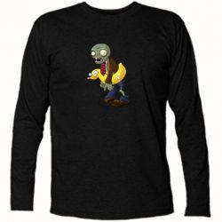 Футболка з довгим рукавом Zombie with a duck