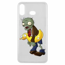 Чохол для Samsung A6s Zombie with a duck