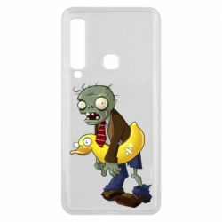 Чехол для Samsung A9 2018 Zombie with a duck