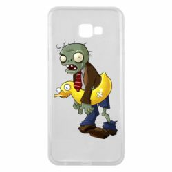Чехол для Samsung J4 Plus 2018 Zombie with a duck
