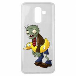 Чехол для Samsung J8 2018 Zombie with a duck