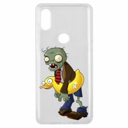 Чехол для Xiaomi Mi Mix 3 Zombie with a duck