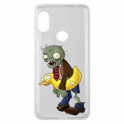 Чехол для Xiaomi Redmi Note 6 Pro Zombie with a duck