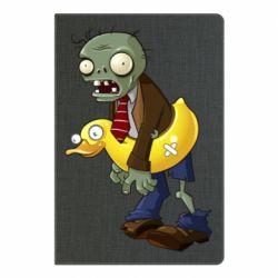 Блокнот А5 Zombie with a duck