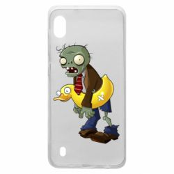 Чехол для Samsung A10 Zombie with a duck