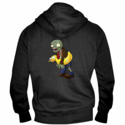 Чоловіча толстовка на блискавці Zombie with a duck