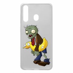 Чехол для Samsung A60 Zombie with a duck