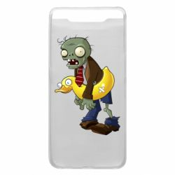 Чехол для Samsung A80 Zombie with a duck