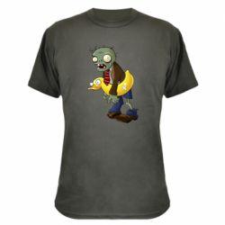 Камуфляжна футболка Zombie with a duck