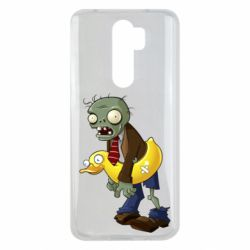 Чехол для Xiaomi Redmi Note 8 Pro Zombie with a duck