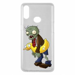 Чехол для Samsung A10s Zombie with a duck