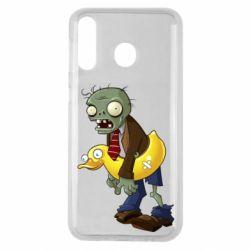Чохол для Samsung M30 Zombie with a duck