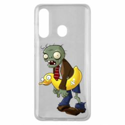 Чехол для Samsung M40 Zombie with a duck