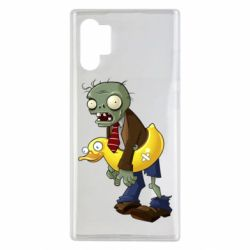 Чехол для Samsung Note 10 Plus Zombie with a duck