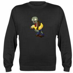 Реглан (світшот) Zombie with a duck