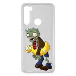 Чехол для Xiaomi Redmi Note 8 Zombie with a duck
