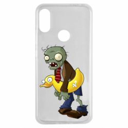 Чехол для Xiaomi Redmi Note 7 Zombie with a duck