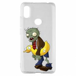Чехол для Xiaomi Redmi S2 Zombie with a duck