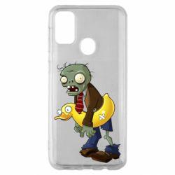 Чохол для Samsung M30s Zombie with a duck