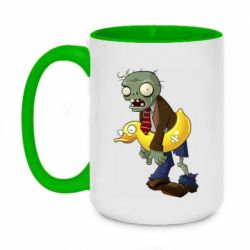 Кружка двоколірна 420ml Zombie with a duck