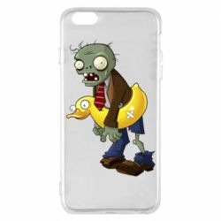 Чехол для iPhone 6 Plus/6S Plus Zombie with a duck