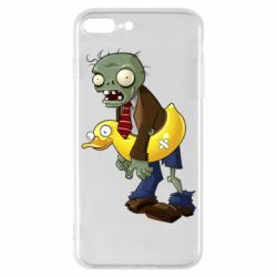 Чехол для iPhone 7 Plus Zombie with a duck