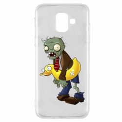 Чохол для Samsung A6 2018 Zombie with a duck