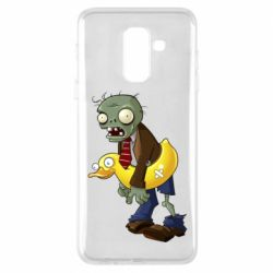 Чехол для Samsung A6+ 2018 Zombie with a duck