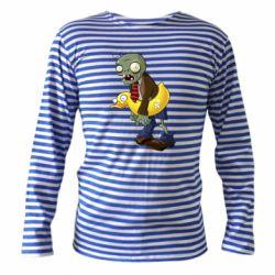 Тільник з довгим рукавом Zombie with a duck