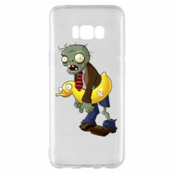 Чехол для Samsung S8+ Zombie with a duck