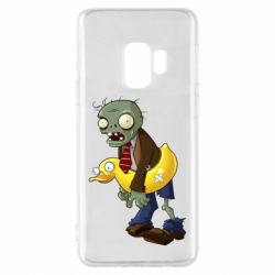 Чехол для Samsung S9 Zombie with a duck